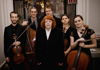 Alla Cohen with Ariel String Quartet and Tal Gamlieli
